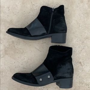Shoes - Italian leather booties